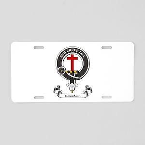 Badge-Donaldson [Aberdeen] Aluminum License Plate